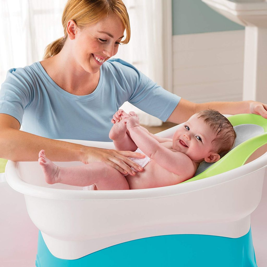 Summer Infant Comfort Height Tub | 5 Tips On How To Make Baby Bath Time Fun