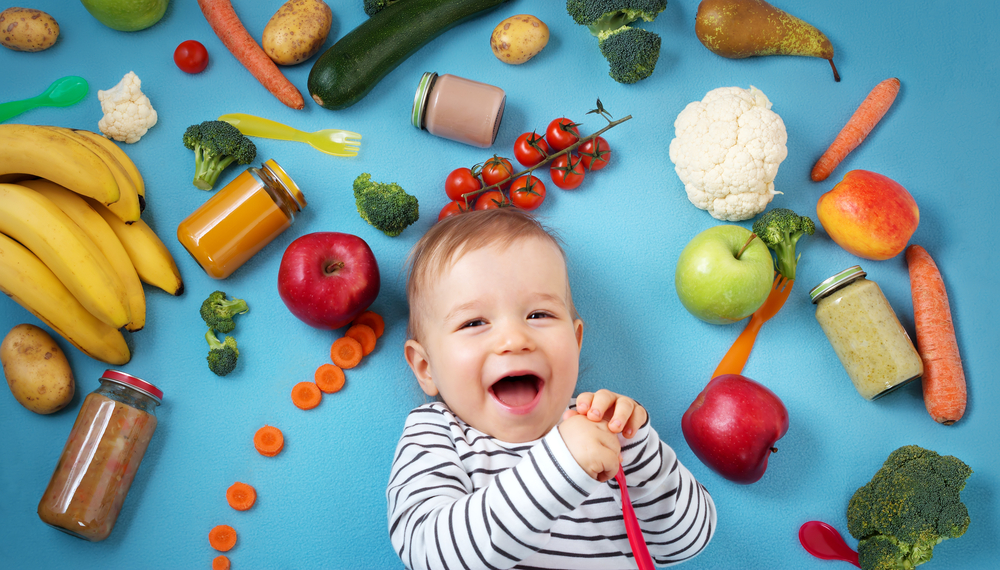 Making your baby food at home