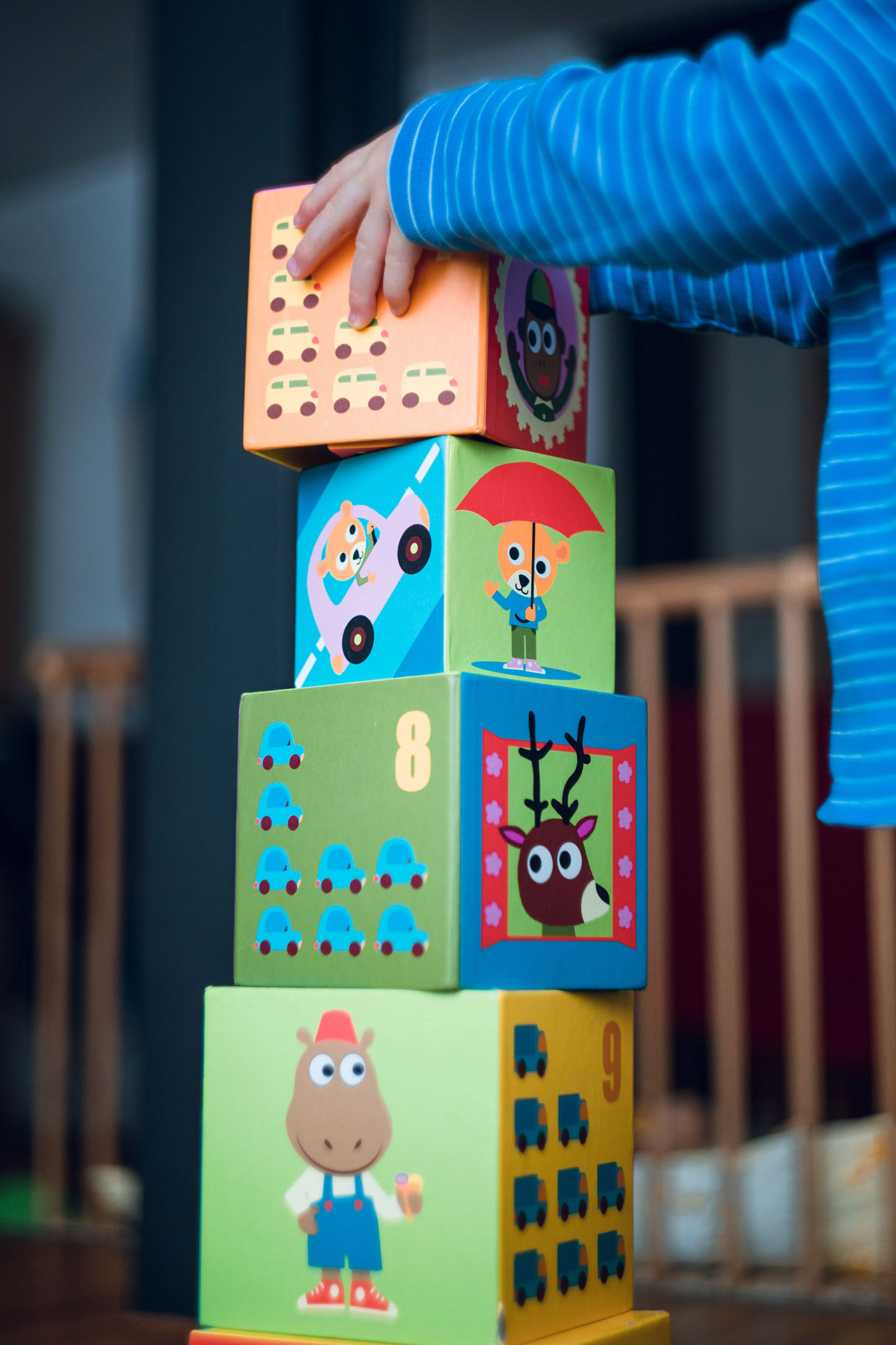 Baby Playing Blocks | 5 Tips On Finding A Babysitter You Can Trust