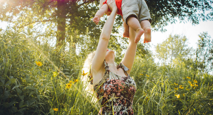 Mother Playing With Her Baby | 8 Ways To Still Have A Life After Having A New Baby