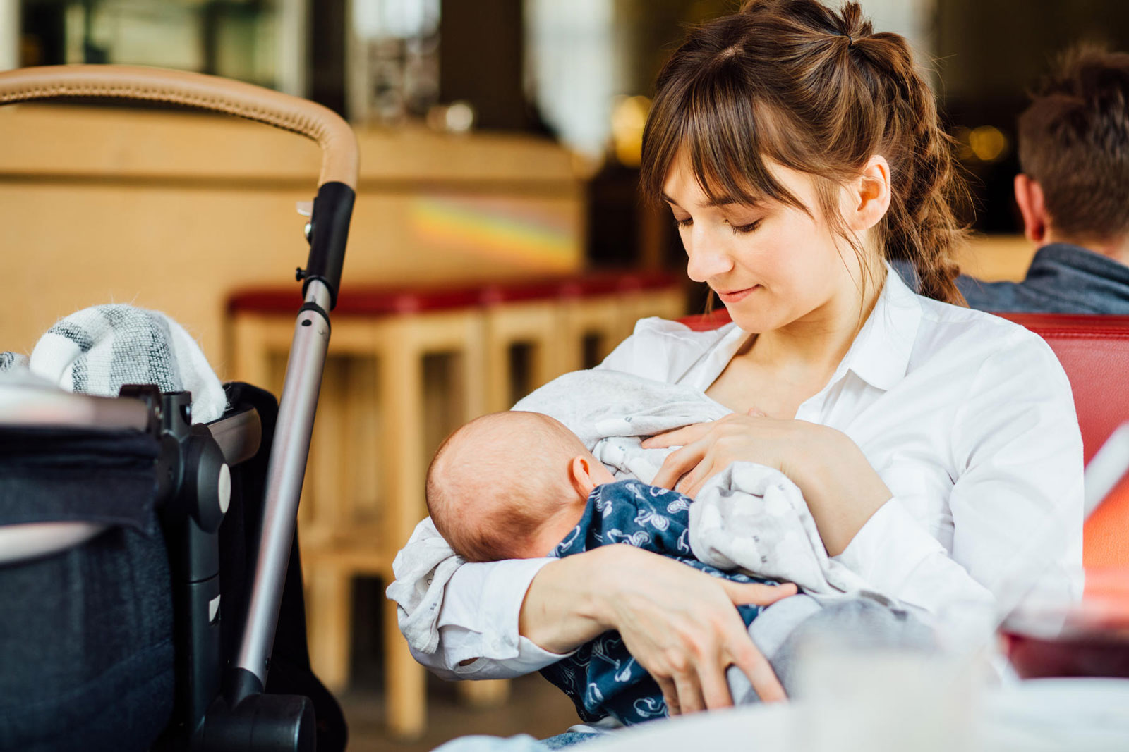 Mother Breastfeeding Her Baby   #MomLife: 25 Things Only New Moms Can Fully Understand
