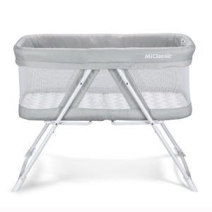 MiClassic 2in1 Stationary&Rock Mode Bassinet Crib