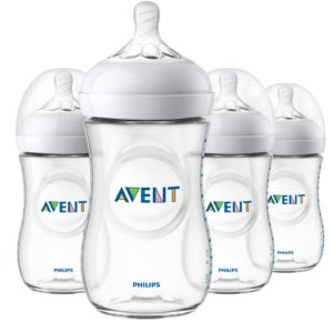 Philips Avent Natural Baby Bottle 9oz (4 pack)