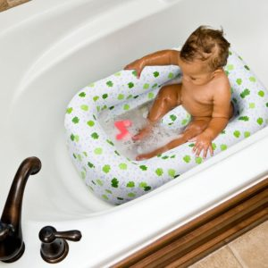 Mommy's Helper Inflatable Bath Tub Froggie Collection (6-24 months)