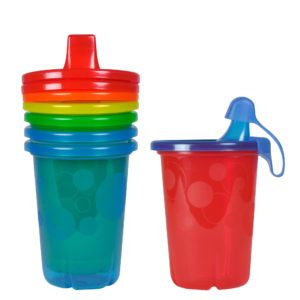The First Years Take & Toss Spill-Proof Sippy Cups (10 Ounce, 4 Count)
