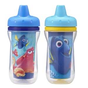 The First Years 2 Pack Disney/Pixar Finding Dory Insulated Sippy Cup (9 Ounce)