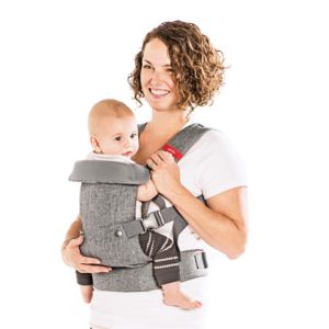 You+Me 4-in-1 Convertible Baby Carrier (with 3D Cool Air Mesh)
