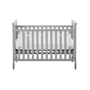 BreathableBaby Classic Breathable Mesh Liner for Solid End Cribs