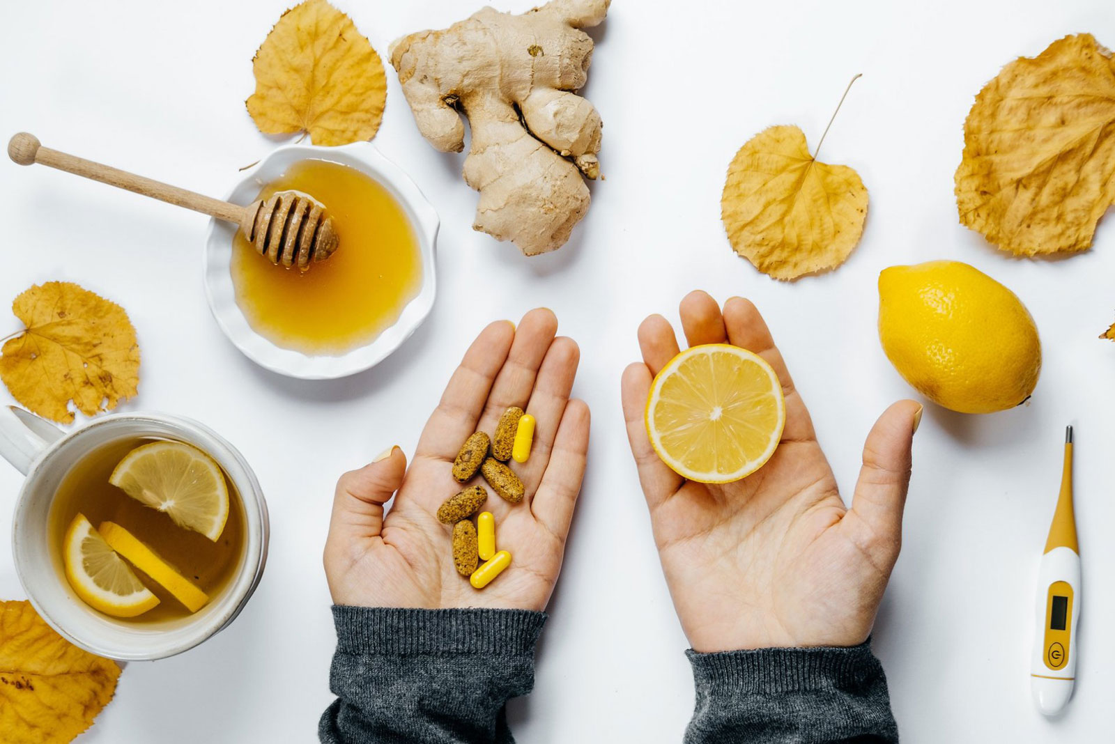 Ginger and Lemon | 10 Natural Remedies For Common Pregnancy Symptoms